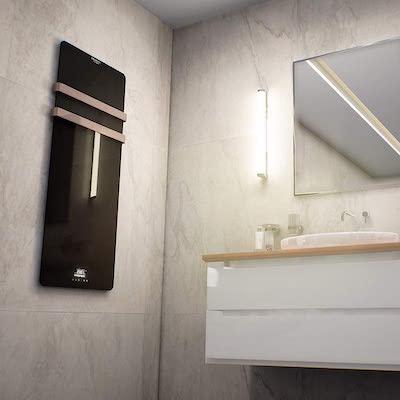 Cecotec Toallero eléctrico de Cristal Ready Warm 9890 Crystal Towel