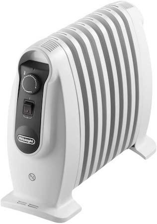 De'longhi TRNS 0808M - Radiador 800 w, ajustes termostato