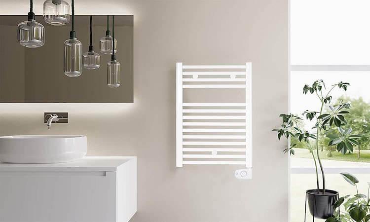 Mejores toalleros eléctricos pequeños. Sin problemas de espacio