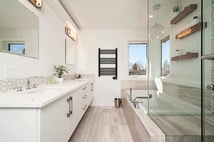 Mejores toalleros eléctricos negros: Realzan tu baño