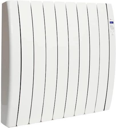 Haverland RC10TTS Inerzia - Emisor Térmico Bajo Consumo, 1500W de Potencia, 10 Elementos, Programable