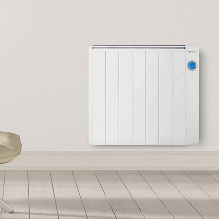 Orbegozo RRE 1310 Emisor Térmico Bajo Consumo, 7 Elementos de Calor, Pantalla Digital LCD