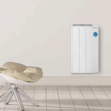Orbegozo RRE 510 Emisor Térmico Bajo Consumo, 3 Elementos de Calor, Pantalla Digital LCD