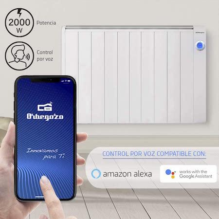 Orbegozo RRW 2000 - Emisor térmico bajo consumo Wi-Fi