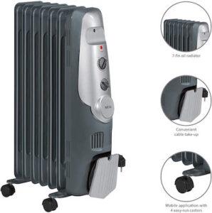 AEG RA 5520 - Radiador de aceite, 1500 W, 7 elementos