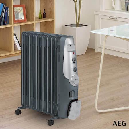 AEG RA 5522 - Radiador de aceite, 2200 W, 11 elementos