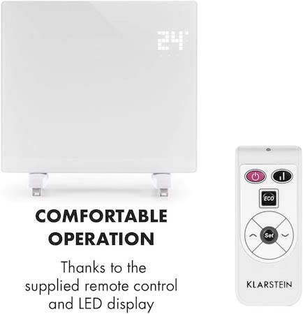 Klarstein Bornholm Single - Convector-calefactor