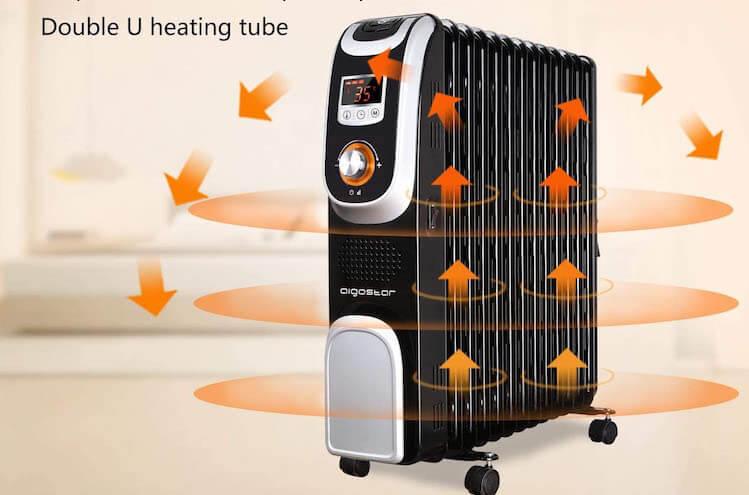 Mejores radiadores eléctricos Aigostar