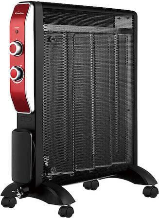 PURLINE MR2000B Calefactor Radiador Eléctrico Bajo Consumo con Panel de Mica