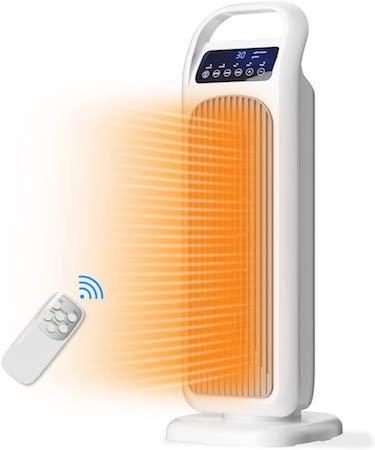 Calefactor Portátil Eléctrico Calefactor de Aire Eléctrico Cerámica