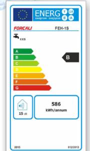Certificacion energetica termos forcali