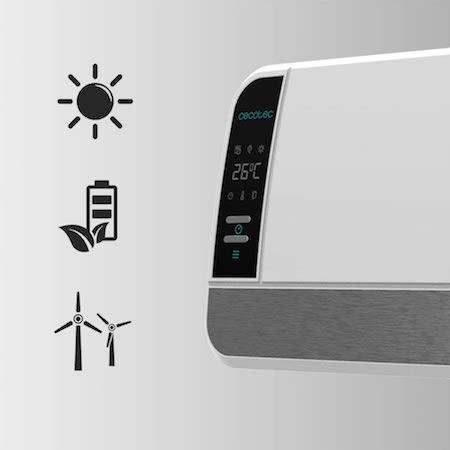 Cecotec Calefactor Cerámico de Pared Ready Warm 5250