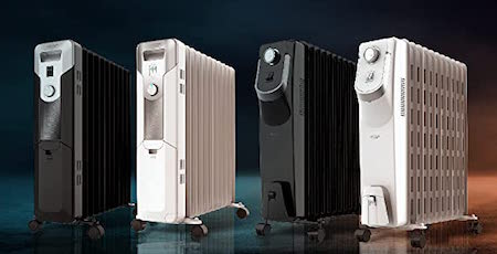 Cecotec Radiador de Aceite Ready Warm 5700 Space. 11 Módulos, Bajo Consumo, Termostato Regulable