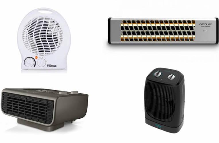 mejores calefactores electricos comparativa