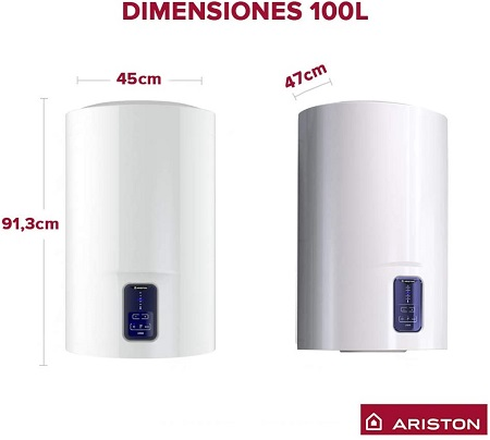 Ariston lydos eco blu dimensiones