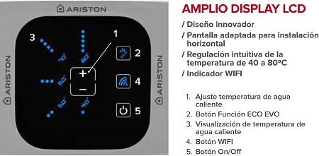 Ariston Velis Wifi funciones
