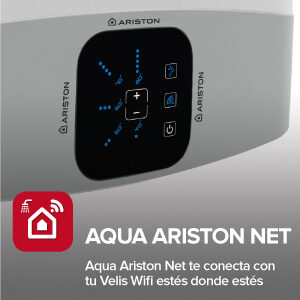 Ariston Velis Wifi panel 1