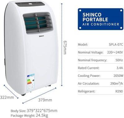 SHINCO 2 kW caracteristicas-min